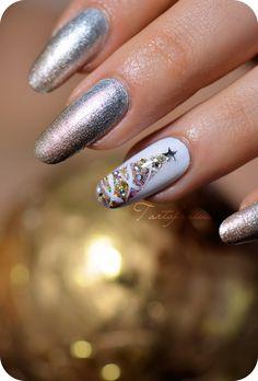 Tartofraises Christmas #nail #nails #nailart