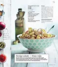 Pastasalade met tonijn en dille - Boodschappen 5 - Mei 2014 by Indicia