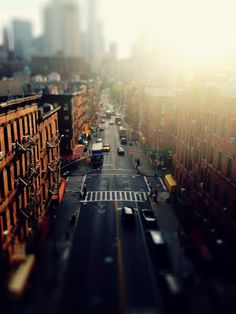 Above New York City. Chinatown - Two Bridges.—-  Sometimes it's a shift in perspective that shifts everything around you.   R...