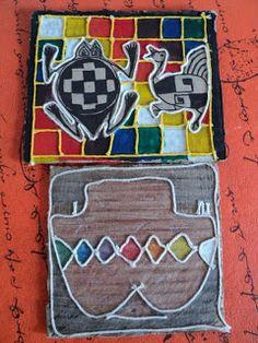 Plástica, arte en la escuela.: 12 de Octubre, Día del respeto a la diversidad cultural Art Therapy, Art School, Ideas Para, Sculptures, Education, Deco, Artwork, Collages, Portraits