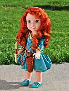 Giveaway! enter here ==> http://foodfamilyfinds.com/tollytots-disney-brave-merida-doll/#comment-392822