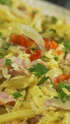 Tempt everyone with this juicy Gramajo Scramble to pass the bread to the plate . Fall Crockpot Recipes, Easy Casserole Recipes, Easy Pasta Recipes, Healthy Chicken Recipes, Easy Dinner Recipes, Healthy Dinner Recipes, Mexican Food Recipes, Easy Cooking, Appetizers
