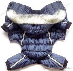 зимняя одежда для собак средних пород - пуховик
