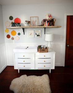 cute eclectic nursery