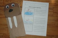 walrus crafts for kids | this and that: walruses