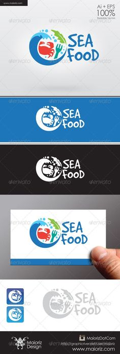 Food infographic Logo Templates Sea Food Logo | GraphicRiver
