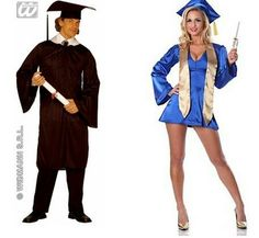 Pointlessly Gendered Graduate Costume (click thru for more Halloween examples)