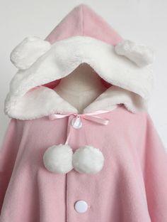 children winter jacket winter coat cute bunny by Prettyobession, $100.00