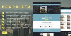 Proprieta Responsive WordPress Theme