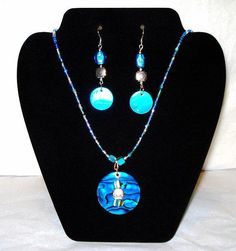 Abalone Paua Shell Sea Glass Necklace