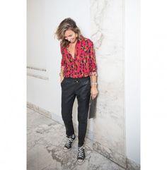 Shirt Ivy Leopard Red