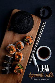Vegan Dynamite Rolls | Olives for Dinner | Bloglovin'