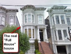 it is speculated that the home at 1709 Broderick St, San Francisco CA 94115 is the real house used in Full House's opening credits