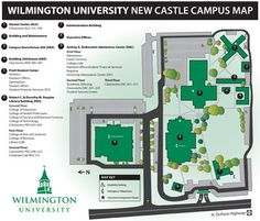 Cumberland County College Campus Map.38 Best Wilmington University Campus Tour Images College Castle