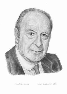 František Zvarík, portrét Dušan Dudo Hanes