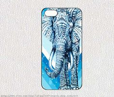 Chevron and elephant in the snowiphone case iphone 4/4S by lafang, $6.89