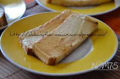 FLAN DE QUESO Salsa Dulce, Healthy Sweets, Sweet Recipes, Pork, Dairy, Cheese, Cooking, Ethnic Recipes, Molde