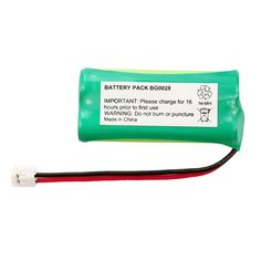 Fenzer Rechargeable Cordless Phone Battery for AT&T/Lucent BT-6010 BT-8000 Cordless Telephone Battery Replacement Pack