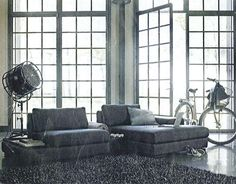 Awesome living room from Vepsäläinen's ad