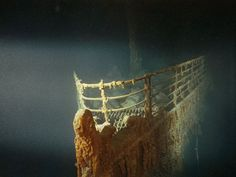 Underwater Prow of Titanic