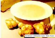 Csicsókakrémleves tejfölösen Dairy, Cheese, Food, Essen, Meals, Yemek, Eten
