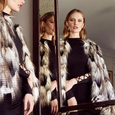 It's finally here | jagger fur jacket  Get the look > http://ss1.us/a/SxHA2h68
