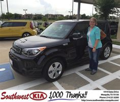 https://flic.kr/p/GdMfQT | #HappyBirthday to Amy from Clinton Miller at Southwest Kia Mesquite! | deliverymaxx.com/DealerReviews.aspx?DealerCode=VNDX