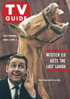 "TV Guide, March 31, 1962 - Alan Young of ""Mister Ed"""