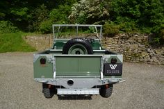 "Land Rover Series 1 80"" 1948 MY Silver Chassis Ken Wheelwright Restoration (DNL 48) - Williams Classics"