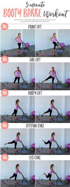 Booty Barre Workout •