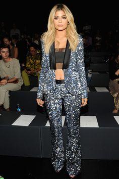 Kylie Jenner Photos - Prabal Gurung - Front Row - Spring 2016 New York Fashion Week: The Shows - Zimbio