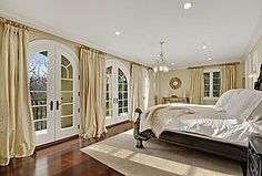 Love French doors to compliment a beautiful master suite en-route to a beautiful patio area