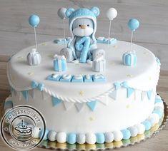 Tort z misiem, torty dla dzieci, torty urodzinowe, torty Warszawa, torty na roczek, torty na zamówienie