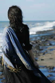 She loves the serene brutality of the ocean, loves the electric power she felt with each breath of wet, briny air. ~Holly Black