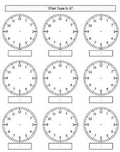 Great worksheet link for creating time worksheets! Teaching Clock, Teaching Time, Teaching Jobs, Teaching Strategies, Middle School Activities, Math Activities, Clock Worksheets, Summer Worksheets, Third Grade Math