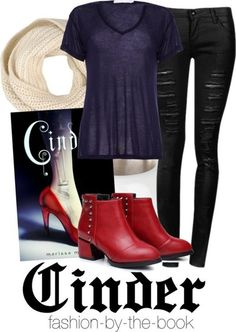Fashion inspired by Cinder (The Lunar Chronicles, Marissa Meyer)