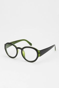mossy-hued spectacles