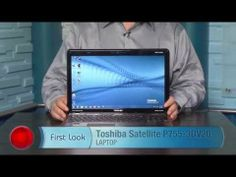 Toshiba Satellite P755-3DV20 - Core i5 2410M 2.3GHz - 15.6-inch TFT - with Nvidia 3D Vision Kit - YouTube