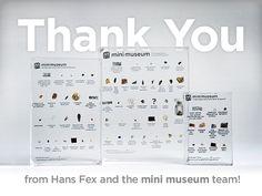 Mini Museum by Hans Fex — Kickstarter