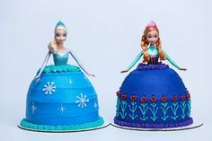 anna elsa mini cakes - Google Search