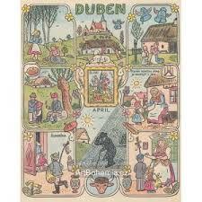Výsledek obrázku pro josef lada - kalendář Mother Family, Czech Republic, Maya, Vintage World Maps, The Past, Places, Illustration, Poster, English