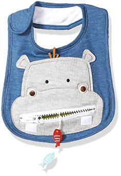 Mud Pie Baby Safari Zipper Bib, hippo, ONE SIZE Mud Pie Quilting Projects, Sewing Projects, Cute Babies, Baby Kids, Mud Pie Baby, Cute Hippo, Sewing Hacks, Sewing Tips, Baby Quilts