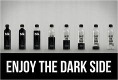 Wow, Awesome Bottles from BLK.