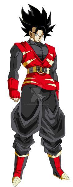 Dragon Ball: Various Saiyan Weird Rules Dbz Characters, Black Anime Characters, Dragon Ball Gt, Goten E Trunks, Dragon Super, Goku Super, Anime Comics, Manga Anime, Character Art