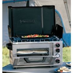 I may have to purchase this for my upcoming Food Network Show: Beach Chef. Coleman® Outdoor Portable Oven/Stove at Cabela's