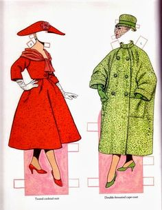 Classic Fashions of CHRISTIAN DIOR by TOM TIERNEY 10 of 17