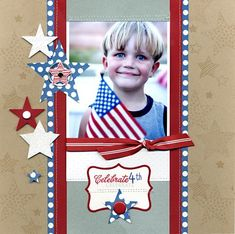 4th of July layout from @Robyn Werlich