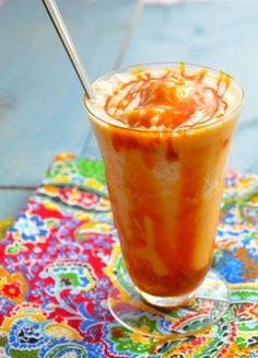 Vegan Caramel Milk Shake
