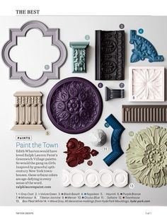For paint colors that are both timeless and on-trend, House Beautiful celebrates Ralph Lauren Paint's new Greenwich Village Palette in their September 2015 issue