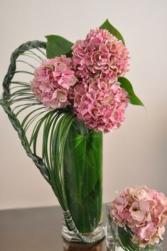flower arragement, Hydrangea, Beargrass, Anthurium